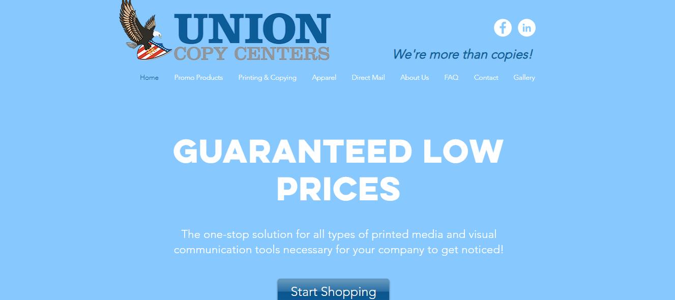 Union Copy Centers